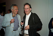 STEPHEN BAYLEY AND JULES LUBBOCK, Opening of Street & Studio exhibition at Tate Modern on Tuesday 20 May 2008.  *** Local Caption *** -DO NOT ARCHIVE-© Copyright Photograph by Dafydd Jones. 248 Clapham Rd. London SW9 0PZ. Tel 0207 820 0771. www.dafjones.com.