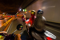 The Saigon River Tunnel is an underwater tunnel that opened on November 20, 2011. It runs underneath the Saigon River in Ho Chi Minh City, the largest city of Vietnam.