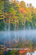 64776-02103 Council Lake in fall color Alger Co.  MI