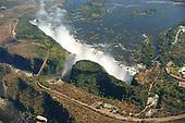 Zambia/Zimbabwe - Victoria Falls from the Sky