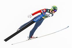 February 8, 2019 - Lahti, Finland - Arttu Mäkiaho competes during Nordic Combined, PCR/Qualification at Lahti Ski Games in Lahti, Finland on 8 February 2019. (Credit Image: © Antti Yrjonen/NurPhoto via ZUMA Press)