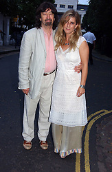SIR TREVOR NUNN and his wife IMOGEN STUBBS at Sir David & Lady Carina Frost's annual summer party held in Carlyle Square, Chelsea, London on 5th July 2006.<br /><br />NON EXCLUSIVE - WORLD RIGHTS