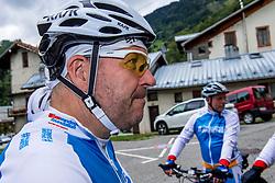 10-09-2017 FRA: BvdGF Tour du Mont Blanc day 1, Beaufort <br /> Vandaag vertrekken we vanuit Papendal in Arnhem naar naar het plaatsje Beaufort (nabij Chamonix) in Frankrijk / Peter