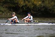 Crew: 94 - Dawson / Foxton - Putney Town Rowing Club - W 2- Club <br /> <br /> Pairs Head 2020