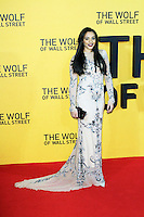 Amal Fashanu, The Wolf of Wall Street - UK film premiere, Odeon Leicester Square, London UK, 09 January 2014, Photo by Richard Goldschmidt