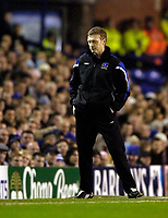 Photo: Jed Wee.<br /> Everton v Millwall. The FA Cup. 18/01/2006.<br /> <br /> Everton manager David Moyes.