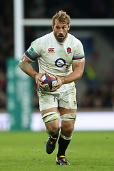 England's Chris Robshaw during the Autumn International at Twickenham Stadium, London. PRESS ASSOCIATION Photo. Picture date: Saturday November 25, 2017. See PA story RUGBYU England. Photo credit should read: Paul Harding/PA Wire. RESTRICTIONS: Editorial use only, No commercial use without prior permission