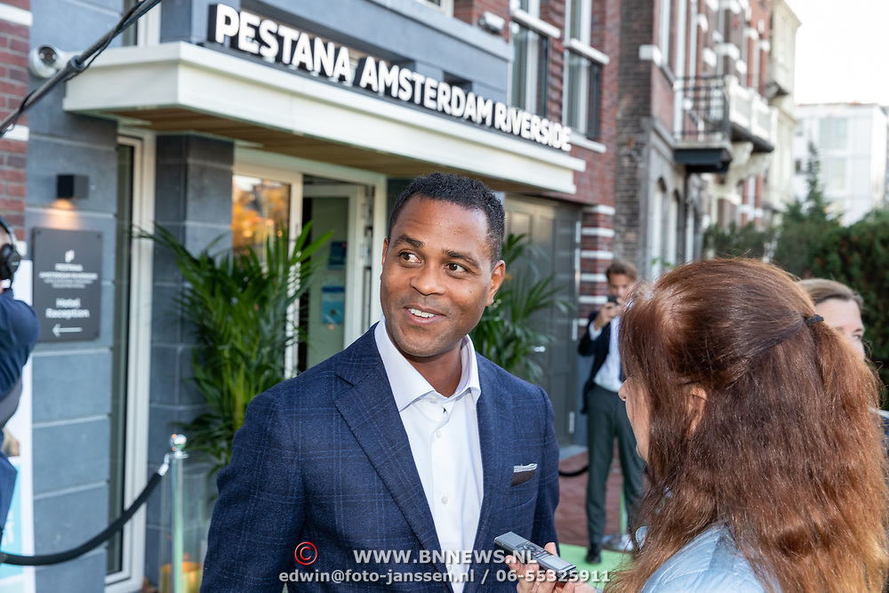 NLD/Amsterdam/20181005 - Benefietdiner Kluivert Dog rescue, Patrick Kluivert