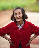 Portrait of woman on farm in Vinales Valley, Cuba