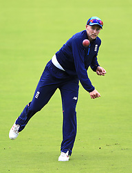 England captain Joe Root during the nets session at Lord's, London. PRESS ASSOCIATION Photo. Picture date: Tuesday July 4, 2017. See PA story CRICKET England. Photo credit should read: Nigel French/PA Wire. RESTRICTIONS: Editorial use only. No commercial use without prior written consent of the ECB. Still image use only. No moving images to emulate broadcast. No removing or obscuring of sponsor logos.