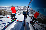 Devin Logan during Ski Slopestyle Practice at the 2016 X Games Aspen in Aspen, CO. ©Brett Wilhelm/ESPN