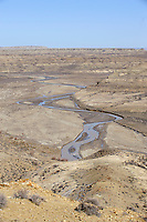 View over Sand Wash Valley, Sand Wash Basin, Wyoming, USA   Photo: Peter Llewellyn
