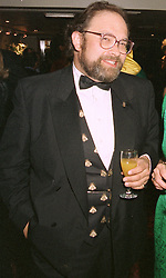 BARON OLIVER ROTHSCHILD at a dinner in London on April 28th 1997.LXZ 30 MO