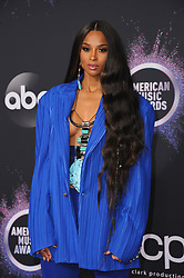 Ciara at the 2019 American Music Awards held at the Microsoft Theater in Los Angeles, USA on November 24, 2019.