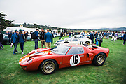August 15, 2019:  Pebble Beach Concours, Ford GT40
