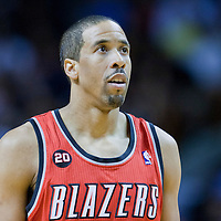08 March 2011: Portland Trail Blazers point guard Andre Miller (24) is seen during the Portland Trail Blazers 105-96 victory over the Miami Heat at the AmericanAirlines Arena, Miami, Florida, USA.