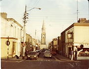 Old amateur photos of Dublin streets churches, cars, lanes, roads, shops schools, hospitals, Streetscape views are hard to come by while the quality is not always the best in this collection they do capture Dublin streets not often available and have seen a lot of change since photos were taken Lusk Martello Tower, Donabate, Gasometer, Patrick St Dun Laoghaire, Patricks Church, St Jame's Iron Footbridge Donnybrook