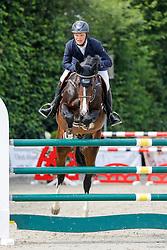 Youngster-Springprfg. Kl. M**, 8j. Pferde, CSN Ehlersdorf 17. - 19.07.2020 - Reitanlage Jörg Naeve, Casall Boy - Lüneburg, Rasmus怀