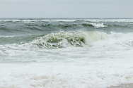 Waves continue to roll in a day after the passage of a Novemder Nor'easter along Provincetown's backside.