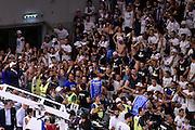 DESCRIZIONE : Sassari Lega A 2014-2015 Banco di Sardegna Sassari Grissinbon Reggio Emilia Finale Playoff Gara 6 <br /> GIOCATORE : Shane Lawal Manuel Vannuzzo<br /> CATEGORIA : esultanza tifosi postgame<br /> SQUADRA : Banco di Sardegna Sassari<br /> EVENTO : Campionato Lega A 2014-2015<br /> GARA : Banco di Sardegna Sassari Grissinbon Reggio Emilia Finale Playoff Gara 6 <br /> DATA : 24/06/2015<br /> SPORT : Pallacanestro<br /> AUTORE : Agenzia Ciamillo-Castoria/GiulioCiamillo<br /> GALLERIA : Lega Basket A 2014-2015<br /> FOTONOTIZIA : Sassari Lega A 2014-2015 Banco di Sardegna Sassari Grissinbon Reggio Emilia Finale Playoff Gara 6<br /> PREDEFINITA :