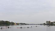 Berlin GERMANY.    General Views GV's,  Junior Sculls early morning. Berlin Grunau Spring Regatta Course.  [Berliner Fruh-Regatta 2010 Berlin-Grunau.].  Saturday  24/04/2010  [Mandatory Credit. Peter Spurrier/Intersport Images].