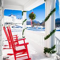 Christmas at the Mount Washington Hotel.
