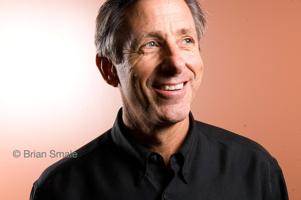 Jim Donald, CEO of Starbucks. Shot at Starbucks offices, Seattle, WA<br />