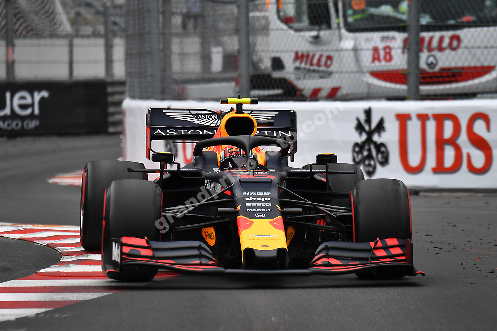 Pierre Gasly (Red Bull-Renault) during practice before the 2019 Monaco Grand Prix. Photo: Grand Prix Photo