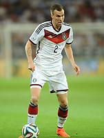 Fotball<br /> Tyskland v Armenia<br /> 06.06.2014<br /> Foto: Witters/Digitalsport<br /> NORWAY ONLY<br /> <br /> Kevin Grosskreutz (Deutschland)<br /> Fussball, Testspiel, Deutschland - Armenien 6:1