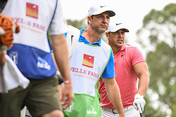 May 5, 2018 - Charlotte, NC, U.S. - CHARLOTTE, NC - MAY 05: Brooks Koepka watches his tee shot  during the 3rd round of the Wells Fargo Championship on May 05, 2018 at Quail Hollow Club in Charlotte, NC. (Photo by William Howard/Icon Sportswire) (Credit Image: © William Howard/Icon SMI via ZUMA Press)