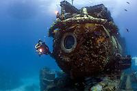 The Aquarius Research Station at the Florida Keys National Marine Sanctuary.
