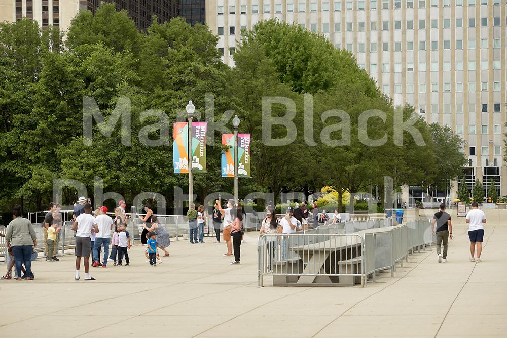 Millennium Park in Chicago, Illinois.<br /> Photo by Mark Black