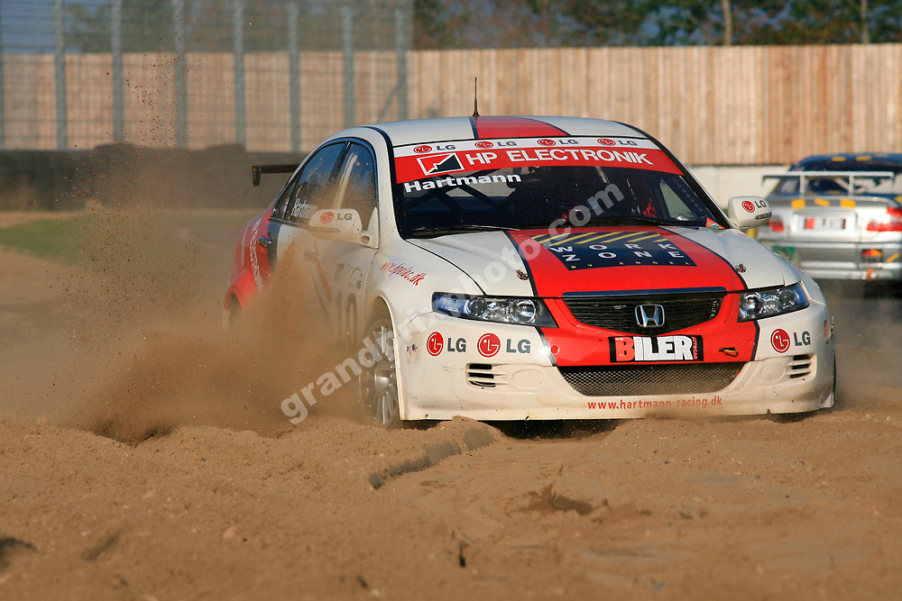 Hans Hartmann (Honda) went off in the 2006 DTC finale at the Jyllands-Ringen in October. Photo: Grand Prix Photo