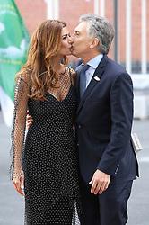 July 7, 2017 - Hamburg, Hamburg, Deutschland - Mauricio Macri mit Gattin Juliana Awada bei der Ankunft zu einem Konzert in der Elbphilharmonie im Rahmen des G20-Gipfel. Hamurg, 07.07.2017 (Credit Image: © Future-Image via ZUMA Press)