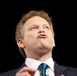 Rt Hon Grant Shapps MP, Chairman of the Conservatives during the Conservative Party Conference, ICC, Birmingham, Great Britain, October 7, 2012. Photo by Elliott Franks / i-Images.