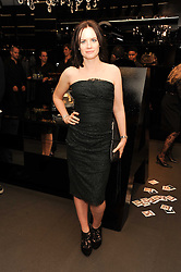 Editor of InStyle EILIDH MacASKILL at a party hosted by InStyle to celebrate the iconic glamour of Dolce & Gabbana held at D&G, 6 Old Bond Street, London on 3rd November 2010.