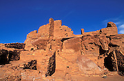 Morning light on Wupatki Ruin, Wupatki National Monument, Arizona