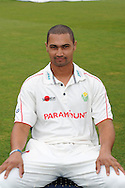 Alviro Petersen, Glamorgan captain. Glamorgan county cricket club official photocall at the Swalec Stadium, Sophia Gardens in Cardiff on Wed 13th April 2011. pic by Andrew Orchard