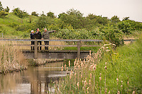 PM Visits Rainham Marsh with CEO's of WWF and RSPB.<br /> Official press and PR Photographer for the visit.