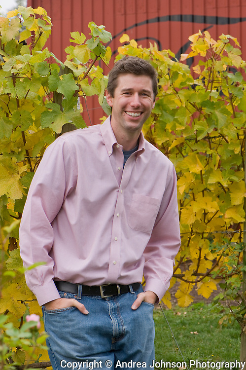 Anthony Van Nice, General Manager, at Four Graces Winery, Dundee Hills, Willamette Valley, Oregon