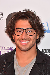 Kem Cetinay attending the BBC Radio 1 Teen Wards, at Wembley Arena, London. Picture date: Sunday October 22nd, 2017. Photo credit should read: Matt Crossick/ EMPICS Entertainment.