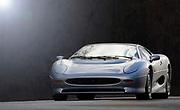 Silver, XJ220, XJ 220, Supercar,