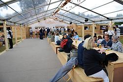Latitude Festival 2017, Henham Park, Suffolk, UK. New for this year, the Danish Quarter, Carlsberg bar