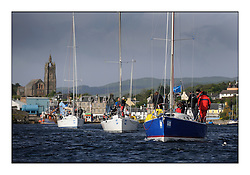 Brewin Dolphin Scottish Series 2011, Tarbert Loch Fyne - Yachting - Day 2 of the 4 day series. Windy!..