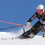 Grant Jampolsky, USA, in action during the Men's Giant Slalom competition at Coronet Peak, New Zealand during the Winter Games. Queenstown, New Zealand, 22nd August 2011. Photo Tim Clayton