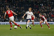 Rachel Furness in action during the FA Women's Super League match between Tottenham Hotspur Women and Arsenal Women FC at Tottenham Hotspur Stadium, London, United Kingdom on 17 November 2019.