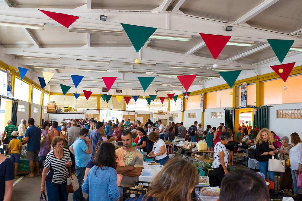 Saturday Market in Lagos, Algarve, Portugal