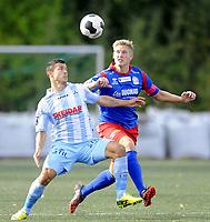 Fotball<br /> Andredivisjon / Oddsen-ligaen<br /> Lørenskog v Follo 0:7<br /> 20.09.2014<br /> Foto: Morten Olsen/Digitalsport<br /> <br /> Fitim Azemi (L) - Follo
