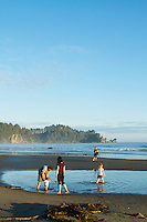 Second Beach in Olympic National Park, WA