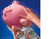 Learn Early to Manage Your Money. Photoshop for Time for Kids